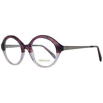 Emilio Pucci Purple Naisten Optiset kehykset
