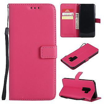 Leather Phone Case For Samsung - Flip Wallet Card Holder Cover