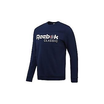 リーボックアイコニッククルーネックCE1849ユニバーサルオールイヤーメンズスウェットシャツ