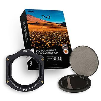 Cokin medium p series evo circular polarizer filter kit - black