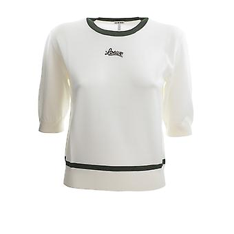 Loewe S817y14k272008 Women's White Cotton T-shirt
