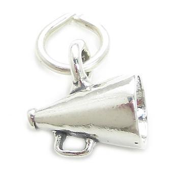 Megafon Sterling Silver Charm .925 X1 Loudhailer Mega Telefon Loud Hailer - 3358