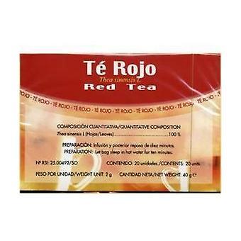 Rød te Infusioner 20 enheder