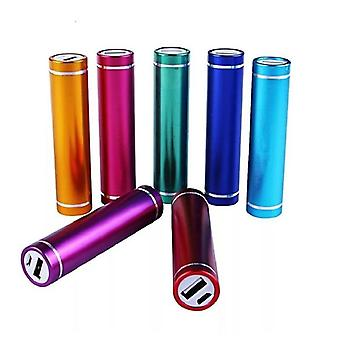 Metal Power Bank Kit, External Charger For Smart Phone