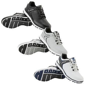Stuburt Golf Mens 2021 Evolve 3.0 Waterproof Leather Cushioned Spikeless