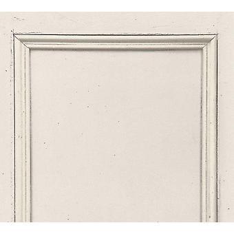 Papel de parede do painel de madeira branca ASC