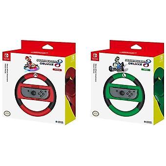 Hori Mario Kart 8 Deluxe - Mario Racing Wheel - Controller forNintendo Switch  Mario Kart 8