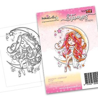 Polkadoodles Serenity Stardust Clear Stamps