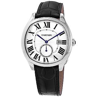 Cartier Drive Silvered Flinique Dial Automatic Men's Watch WSNM0015