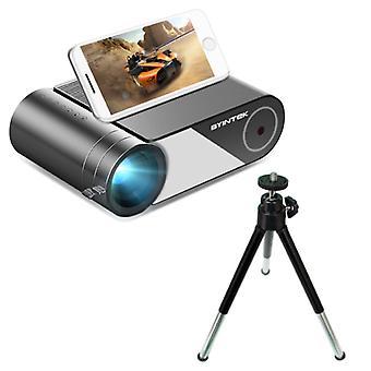 BYINTEK K9 Mini LED -projektori jalustalla - Android OS Screen Beamer Home Media Player