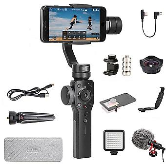 Smooth 4 3-axis Handheld Smartphone Gimbal Stabilizer Action Camera