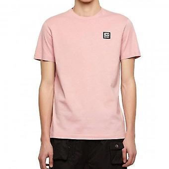 Diesel T-DIEGOS-K30 Chest Logo T-Shirt Pink