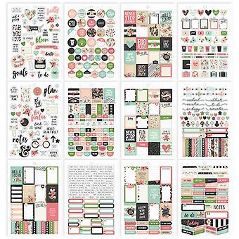 Simple Stories - Carpe Diem - Bloom - Bloom Sticker Tablet