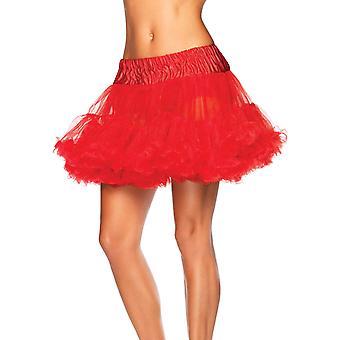 Jupon rouge femme