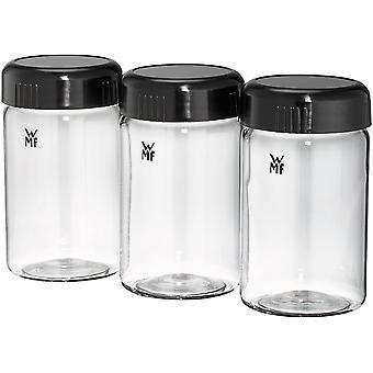 HanFei KCHENminis Joghurtbecher, 3 Joghurt-to-go-Becher, BPA-frei, Erweiterungsset,  150 ml,