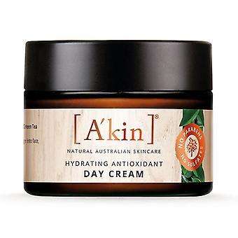 A'kin Hydrating Antioxidant Day Cream Moisturiser Natural Australian Skin Care