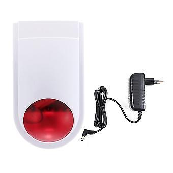 PNI SafeHouse HS007 Trådlös utomhus siren med batteri för PNI SafeHouse HS550 trådlöst larmsystem