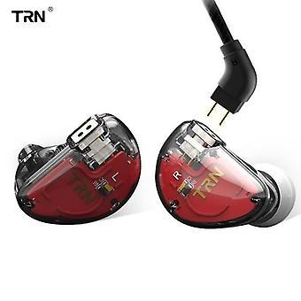Cuffie TRN V30 0,75 mm 2Pin Auricolare cablato in-ear Auricolare jack da 3,5 mm per smartphone MP3