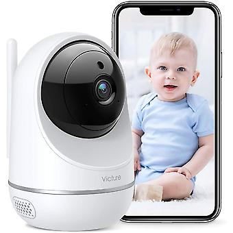 HanFei WLAN Kamera Indoor, Dualband 2.4Ghz und 5Ghz Wi-Fi, 1080P Überwachungskamera WLAN, Babyphone