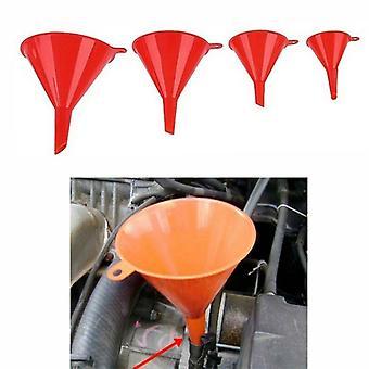 4pcs Set- Líquido de embudo, Cambio de aceite de gasolina, Embudo de llenado