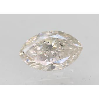 Sertifioitu 0,22 karat G Väri VS2 Markiisi Natural Loose Diamond 5.31x3.29mm 2VG