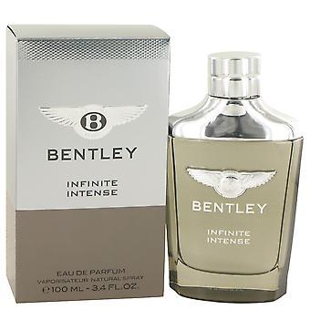 Bentley Infinite Intense by Bentley Eau De Parfum Spray 3.4 oz
