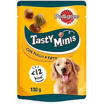 Pedigree Tasty Mini Snacks for Dogs Chicken and Duck Flavor (Dogs , Treats , Biscuits)