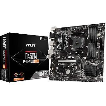 FengChun B450M PRO-VDH MAX AMD AM4 DDR4 m.2 USB 3.2 Gen 2 HDMI Micro-ATX Motherboard