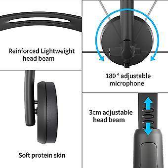 FengChun PC Headset, USB/3.5mm Klinke Computer Kopfhörer verdrahtet mit Noise Cancelling Mikrofon,