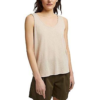 edc av Esprit 041CC1K320 T-Shirt, 270/Beige, Stor kvinna