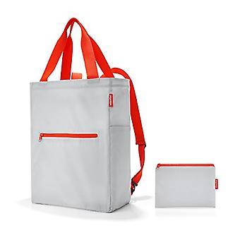 Reisenthel mini maxi 2in1 Messenger Bag, 41 cm, 19 liters, Grey (Light Grey)