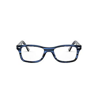 Ray-Ban Rx5228 0RX52288053, Blue, 55/17/140 Unisex-Adult