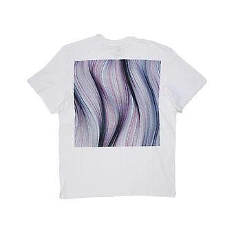 Element Twists et Tourne Short Sleeve T-Shirt en blanc optique