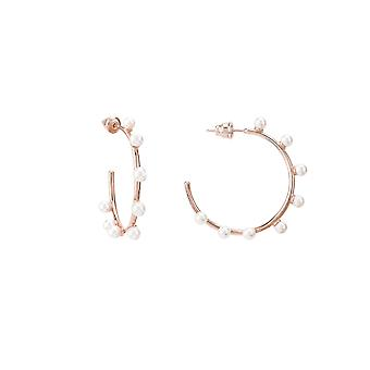 Pearly Hoops Rosegold