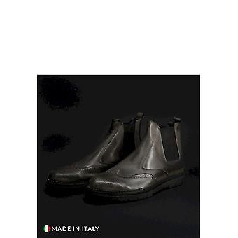 SB 3012 - Shoes - Ankle Boots - 400D-PELLE-GRIGIO - Men - gray - EU 40