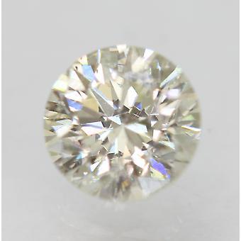 Sertifioitu 0,56 karat I VS2 pyöreä brilliant parannettu luonnollinen löysä timantti 5,22mm