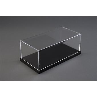 Luxury svart blank bas vitrinskåp