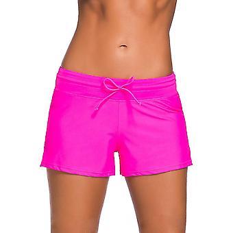 Xl red women swimsuit shorts tankini swim briefs plus size bottom boardshort summer swimwear beach trunks for girls x4890