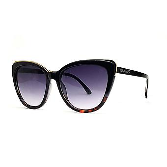 Ruby rocks roseanne cateye sunglasses in black & tort