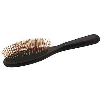 Chris Christensen Oval Messing Pin Brush Fusion Series for kjæledyr