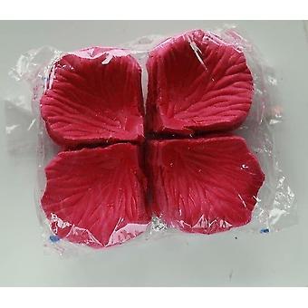 עלי כותרת של ורדים סימולציה, פרחים מלאכותיים, קישוט רומנטי לחתונה,