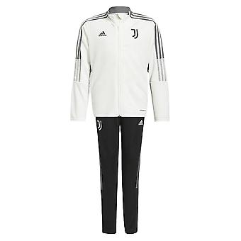 2021-2022 Juventus Tracksuit (White) - Kids