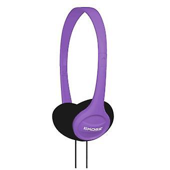 "Koss ""KPH7"" On-Ear Headphones, violet"