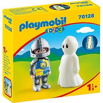 Playmobil 1.2.3 Riddare med spökfigurer
