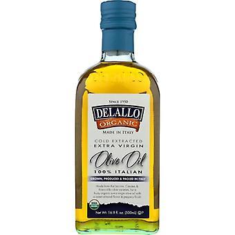 Delallo Oil Olive Xvrgn Unfil, Case of 6 X 16.9 Oz