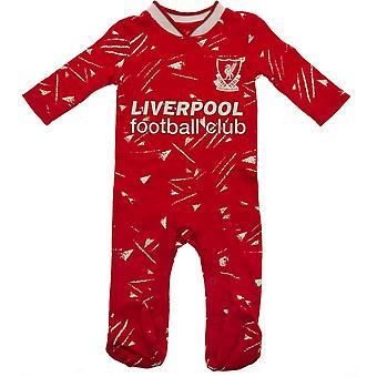 Liverpool FC Baby Retro Sleepsuit