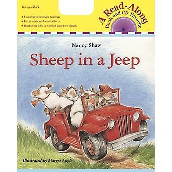 Lammas Jeep Book amp Cd:ssä, kirjoittanut Nancy E Shaw & Illustrated by Margot Apple