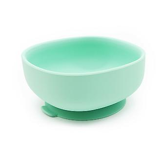 Suction Bowls Square With Bamboo Spoon Fork Feeding Set Silicone