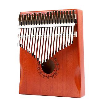 21 Keys kalimba musical instrument lightweight portable mahogany wood thumb finger piano music elements for beginner