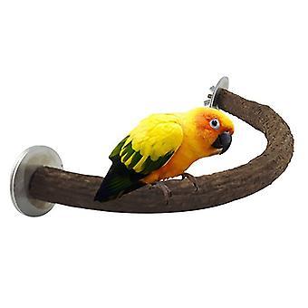 Holzständer für Haustier Vogel